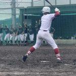 【硬式野球部】 白山高校戦 3×-2 逆転サヨナラ勝ち!!