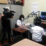 【放送部】ケーブルテレビCNSに取材していただきました