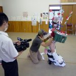 【加佐登活性化×放送部】広瀬町のかんこ踊り、準備風景を取材しました