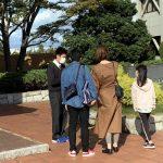 「鈴鹿学」国体開催に関する街頭インタビューを行いました