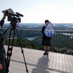 【放送部】近畿高等学校総合文化祭奈良大会総合開会式、県紹介映像撮影