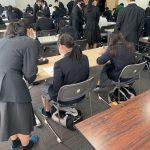 神戸中学校土曜スクールに参加しました