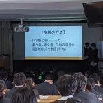 【課題研究】課題研究発表会を開催しました