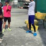 【女子ソフトテニス部】【男子ソフトテニス部】7月エバーラケット講習