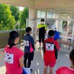 【女子ソフトテニス部】8月8日鈴鹿市長杯