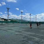 【女子ソフトテニス部】8月名張青峰高校との合同練習・練習試合